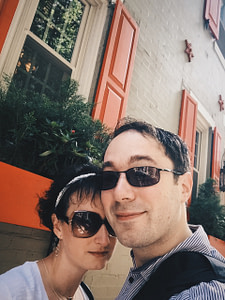 Me and Jeni in Philadelphia