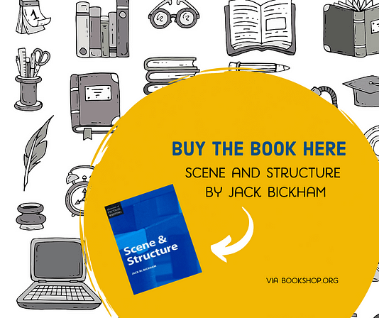 link to buy Jack Bickham's book